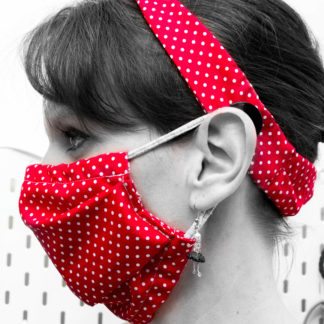 Bandeau cheveux Masque alternatif grand public
