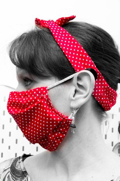 Bandeau cheveux Masque alternatif grand public