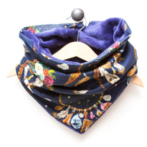 Snood Marine Attrape Rêve