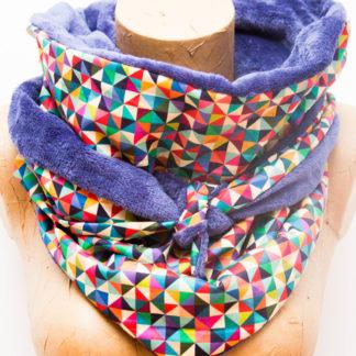 Chèche Femme Géometrique Multicolor