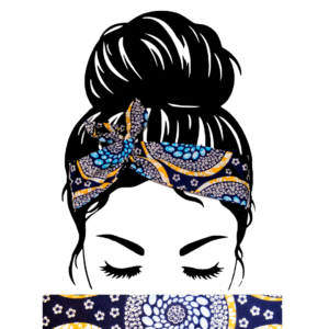 Bandeau Cheveux Wax Turquoise