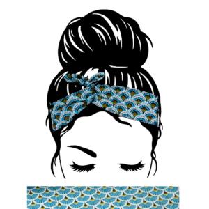 Bandeau Cheveux éventails