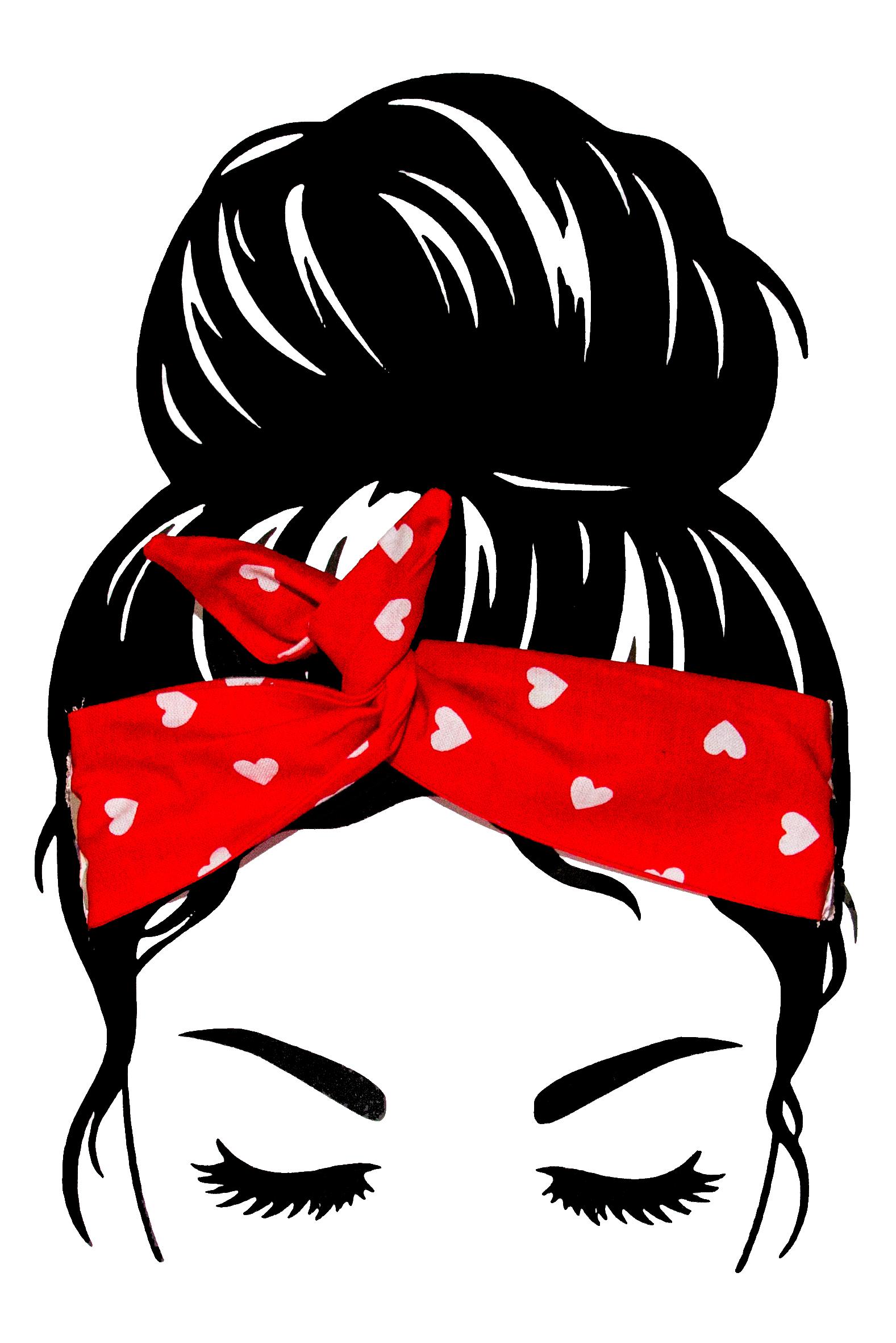 turbans coeur rouge